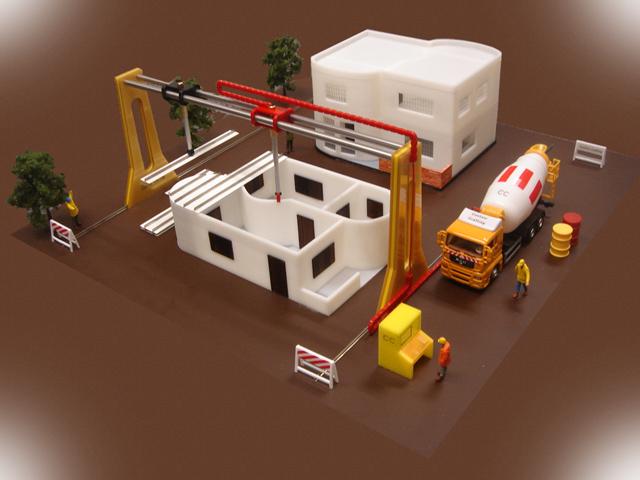 Архитектурный 3D принтер